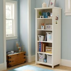 bookcase to store: Books (of course), cameras, photo frames, candles, movies, cds, records, candy jars and many more!