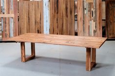 Neel Dey Furniture, Recycled Timber Dining Tables & Timber Furniture Melbourne