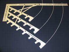 Профессиональные системы для изготовления ламбрекенов и хвостами, занавески Accessoriers