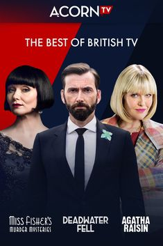 "Acorn TV ""streams some of the coolest TV content from Britain, Canada, Australia & New Zealand"" (NPR). Where will you start? Start your free trial now. Sequel to the box-office hit film Venom. Film Vf, Black Widow, Super Heroine, Movie Co, Tv Series To Watch, The Hollywood Reporter, Brian Atwood, Mystery, Wonder Woman"