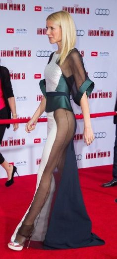 Gwyneth Paltrow...love this profile shot.