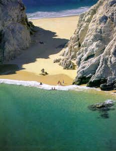 Los Cabos beach, MEXICO. This beach is only accessible when tide goes out. So beautiful and many sea lions and whales nearby