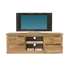 Notation Forte Assembled Solid Oak TV Cabinet | Notation Furniture