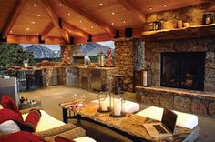 rock hot tub ideas | Rolling Ridge Deck, Deck Builders Evergreen CO, Decks Denver, Colorado ...