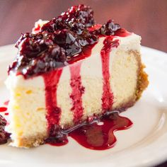 The Best Ever Creamy Cheesecake - The Red Apron Girl Recipes - CheescakeBrownie Creamy Cheesecake Recipe, Plain Cheesecake, Best Cheesecake, Cheesecake Recipes, Dessert Recipes, Classic Cheesecake, Homemade Cheesecake, Cookie Recipes, Just Desserts