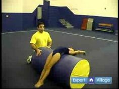 Gymnastics & Tumbling Lessons for Beginners : Knees & Hand Drills for Beginner Gymnasts - YouTube
