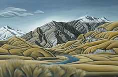 See all the newest prints by New Zealand artists. Latest publications from NZ art publishers through to limited edition fine art prints. Shop the wide range available now at NZ's art print specialists since Landscape Prints, Abstract Landscape, Landscape Paintings, Large Canvas Prints, Art Prints, New Zealand Landscape, New Zealand Art, Nz Art, Great Paintings