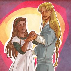 Finrod and Andreth
