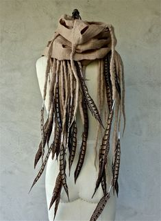 Ooh- kinda like having dreads but without all the work! 2019 Ooh- kinda like having dreads but without all the work! The post Ooh- kinda like having dreads but without all the work! 2019 appeared first on Wool Diy. Dreads, Vestidos Viking, Larp, Apocalyptic Fashion, Diy Jewelry Inspiration, Diy Schmuck, Nuno Felting, Felt Art, Costume Design