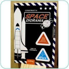 Seedling Construct a Space Diorama - Jumbo Pop up Book - Felix