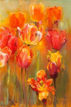 Masterpiece Art - Tulips in the Midst II, $35.20 (http://www.masterpieceart.com.au/tulips-in-the-midst-ii/)