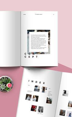 Fashion Lookbook/Portfolio on Behance