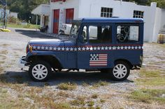 Old Mail Jeep