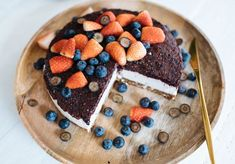 A Pair & A Spare | Raw Blueberry 'Cheesecake' Recipe