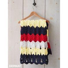 Free Intermediate Blanket Crochet Pattern