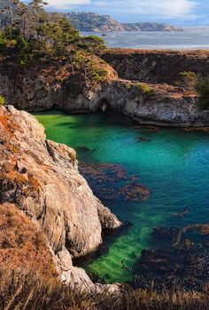 I'd love to spend the day getting lost in these hidden coves & sea caves.  California's best-kept secret