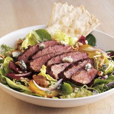 Gorgonzola Steak Salad.
