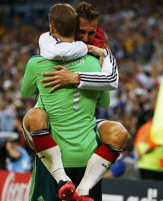 Neuer and Klose