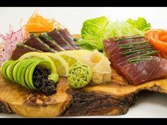 Youtube - Préparation et présentation d'un plat de sashimi