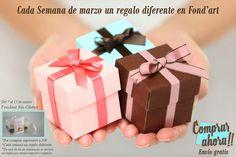 Hasta el domingo 13 de marzo FONDANT DE REGALO por todas tus compras en nuestra tienda http://tienda.fondant-cupcakes.com