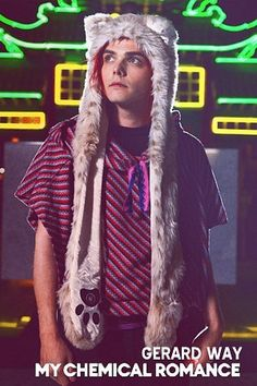 Gerard Way...in Japan...need I say more?