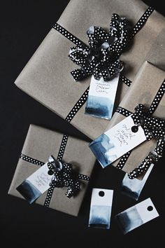 Gift tags DIY