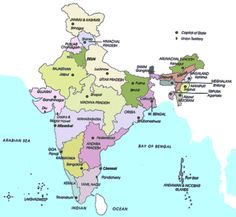 awesome Map of India