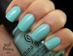 Color: For Audrey (Tiffany blue) by China Glaze