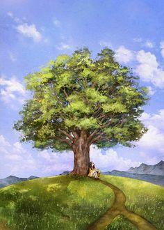 언덕 위의 나무 Área de juego del Autor: Grafolio