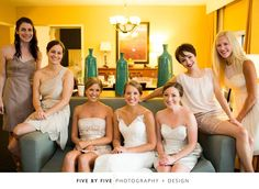 The Hilton Lexington Downtown has several suite options available for the bridal party to get dressed, it's also a great central location for unique places to take pictures.