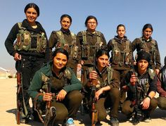 """sixpenceee: """" Lest we forget, happy women's day to all the brave heroines out there battling ISIS """" Happy Woman Day, Happy Women, Jeanne D'arc, Female Fighter, Military Women, Military Outfits, Female Soldier, Lest We Forget, Thrillers"""