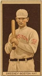 1912 Brown Backgrounds T207 #180 Bill Sweeney Front