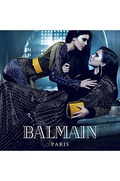 Kylie and Kendall Jenner star in Balmain campaign - click through to meet more fashion sisters