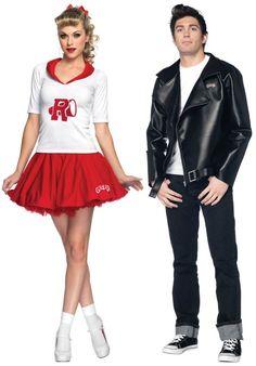Cute Grease couples costume idea!