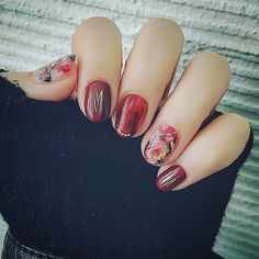 #nail #ボルドー #恵比寿 #仕事終わり #有意義な1日 #ネイルが可愛い #factorygirl