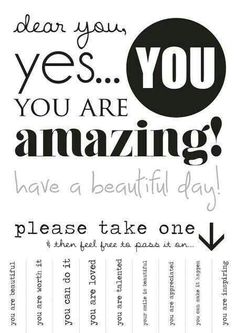 Yes YOU are beautiful.  Share the happiness and joy.