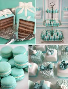 Tiffany I love tiffany & Co! Join me for more favorites at I love tiffany & Co! Join me for more favorites at Tiffany Blue Weddings, Tiffany Theme, Tiffany Wedding, Green Weddings, Wedding Blue, Romantic Weddings, Tiffany Birthday Party, Tiffany Party, Tiffany Baby Showers