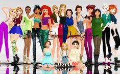 {MMD Download} Modern Disney Girls [BIG Pack] by SanctuarysEmbrace.deviantart.com on @DeviantArt