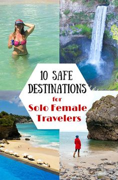 Travel tips - 10 safest destinations for solo female travelers.