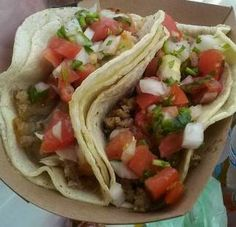 Tamale Express tacos. http://www.chicagonow.com/show-me-chicago/2015/08/farmers-market-series-loyola-market-not-just-for-students/