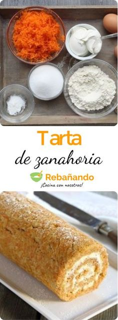 Una tarta de zanahoria ¡como ninguna otra! Cheesecake Cake, Cheesecake Recipes, Dessert Recipes, Desserts, My Recipes, Sweet Recipes, Savory Pastry, Sweet Tarts, Baked Goods