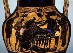 Image result for black figure vase dragging hector