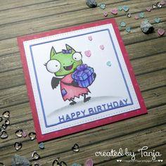 Karten-Kunst » Happy Birthday Daisy