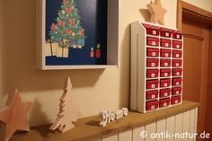 Adventkalender aus alter Schublade | Antik-Natur.de