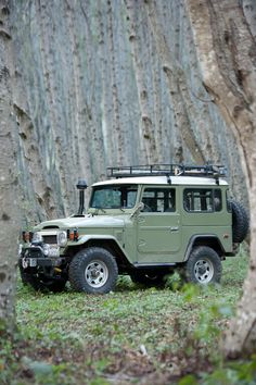 1978 Toyota Land Cruiser FJ40, with 1995 1HZ turbo diesel motor with intercooler.  #FJ40 #landcruiser
