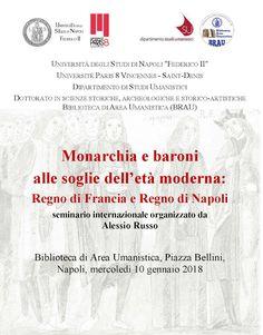 Italia Medievale: Monarchia e baroni alle soglie dell'età moderna
