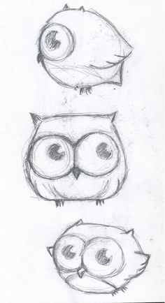 Drawing Doodles Sketches Cute little owl drawing - Maybe a tattoo? Doodle Drawings, Drawing Sketches, Pencil Drawings, Drawing Ideas, Sketching, Pencil Art, Drawing Quotes, Easy Sketches To Draw, Dragon Drawings