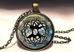 CELTIC TREE OF LIFE Big Pendant, 0463PB from EgginEgg by DaWanda.com