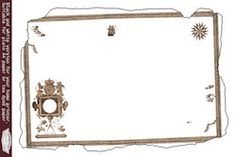 Print This Map Template Out Then Add Some Landmarks Using A Black Marker Treasure Hunt