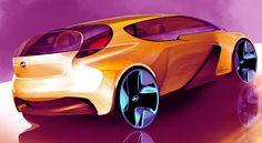 Absurd Idea Car Design Sketch, Car Sketch, Colani Design, Bmw Concept Car, Industrial Design Sketch, Futuristic Cars, Car Drawings, Cool Sketches, Love Car